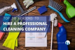 10 reasons to hire a commercial cleaning company