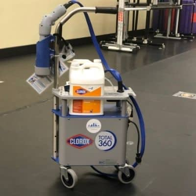 Industrial Cleaning Services Washington DC - Electrostatic disinfection
